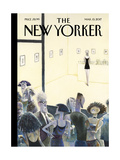 Opening Night - The New Yorker Cover, March 13, 2017 Regular Giclee Print by Carter Goodrich