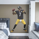 NFL Ben Roethlisberger 2015 RealBig Wall Decal