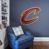 NBA Cleveland Cavaliers 2015-2016 3D C RealBig Logo Wall Decal