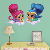 NICK Shimmer and Shine Fathead Jr. Wall Decal
