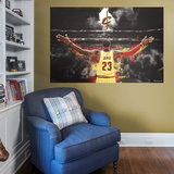 NBA LeBron James 2015-2016 The King RealBig Mural Wall Mural