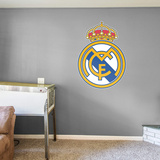 SOCCER Real Madrid RealBig Logo Wall Decal