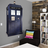 Doctor Who Tardis RealBig Wall Decal