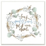 Every Gift From Above Blue Wall Plaque Art by EtchLife Wood Sign