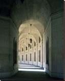 Arched architectural detail in the Federal Triangle located in Washington, D.C. Stretched Canvas Print by Carol Highsmith