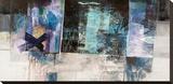 Cieli ed oceani Stretched Canvas Print by Giuliano Censini