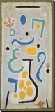 Die Vase Stretched Canvas Print by Paul Klee