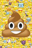 Poop Emoticon & Friends Posters