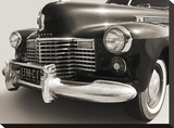 1941 Cadillac Fleetwood Touring Sedan Stretched Canvas Print by  Gasoline Images