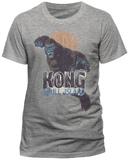 Kong: Skull Island- Distressed Leap T-skjorter