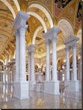 Great Hall, second floor, north. Library of Congress Thomas Jefferson Building, Washington, D.C. Stretched Canvas Print by Carol Highsmith