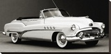 Buick Roadmaster Convertible Stretched Canvas Print by  Gasoline Images