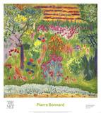 Garden Print by Bonnard Pierre