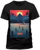 Kong: Skull Island- Advancing On The King T-Shirt
