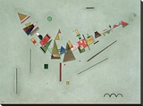 Improvisation Stretched Canvas Print by Wassily Kandinsky