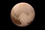 Pluto Heart Prints by  NASA