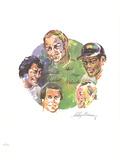 Sports Legends Affiches par Neiman Leroy