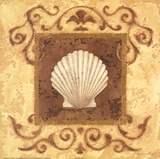 Stylized Shell I Posters by Jane Carroll
