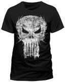 The Punisher- Razor Sharp Logo T-skjorte