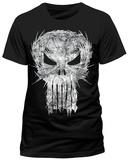 The Punisher- Razor Sharp Logo T-Shirts