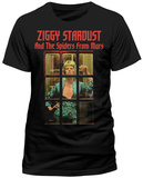 David Bowie- David Bowie- Ziggy Phonebooth T-shirt