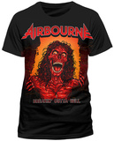 Airbourne- Breakin Outta Hell Album Art Maglietta