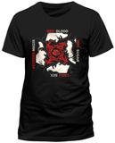 Red Hot Chili Peppers- Blood Sugar Sex Magik Album Art T-Shirt