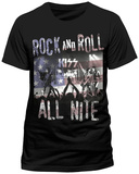 Kiss- Rock & Roll All Nite Shirts