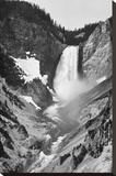 Yellowstone Falls, Yellowstone National Park, Wyoming. ca. 1941-1942 Stretched Canvas Print by Ansel Adams