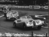International Sports Car Race, UK, 1952 Stretched Canvas Print by  Hulton Deutsch Collection