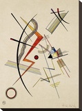 Untitled Stretched Canvas Print by Wassily Kandinsky