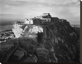 Full view of the city on top of mountain, Walpi, Arizona, 1941 Stretched Canvas Print by Ansel Adams