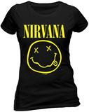 Women's: Nirvana- Nirvana - Smile T-skjorte