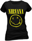 Juniors: Nirvana- Nirvana - Smile T-Shirt