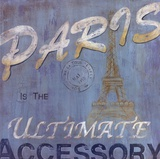 Paris Poster by Eugene Tava