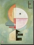 Upward Stretched Canvas Print by Wassily Kandinsky
