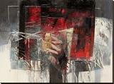 Di vino e sole Stretched Canvas Print by Giuliano Censini