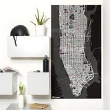 PinCity Wall Map Diary - New York Regalos