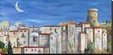 Villaggio silenzioso Stretched Canvas Print by Donato Larotonda