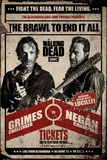 The Walking Dead- Brawl To End It All Promotion Pósters