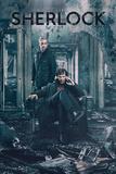 Sherlock- Calm Mind Amid Destruction Poster