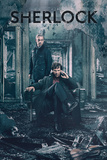 Sherlock- Calm Mind Amid Destruction Posters