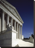 U.S. Supreme Court building, Washington, D.C. Stretched Canvas Print by Carol Highsmith