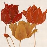 Austin's Tulips II Prints by Janet Tava