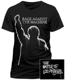 Rage Against The Machine- The Battle Of Los Angeles Graffiti (Front/Back) T-Shirts