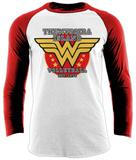 Long Sleeve: Wonder Woman- Themyscira Volleyball Team T-skjorter