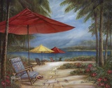 Relaxing Paradise I Posters by Ruane Manning