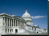 U.S. Capitol, Washington, D.C. Stretched Canvas Print by Carol Highsmith