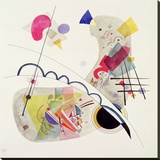 Grave Forme Stretched Canvas Print by Wassily Kandinsky