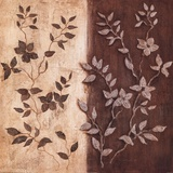 Russet Leaf Garland II Prints by Janet Tava